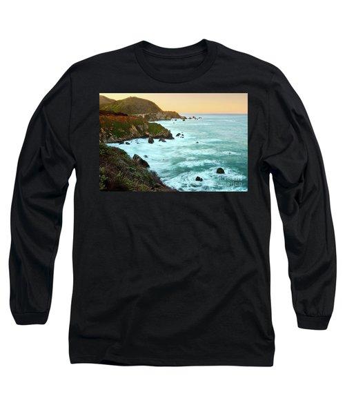 Big Sur Sunrise Long Sleeve T-Shirt