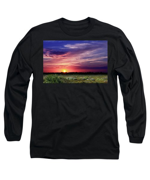 Big Texas Sky Long Sleeve T-Shirt