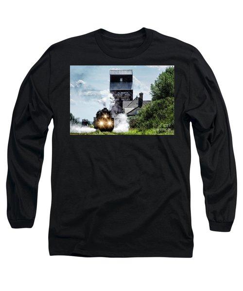 Big Valley Steam Long Sleeve T-Shirt by Brad Allen Fine Art