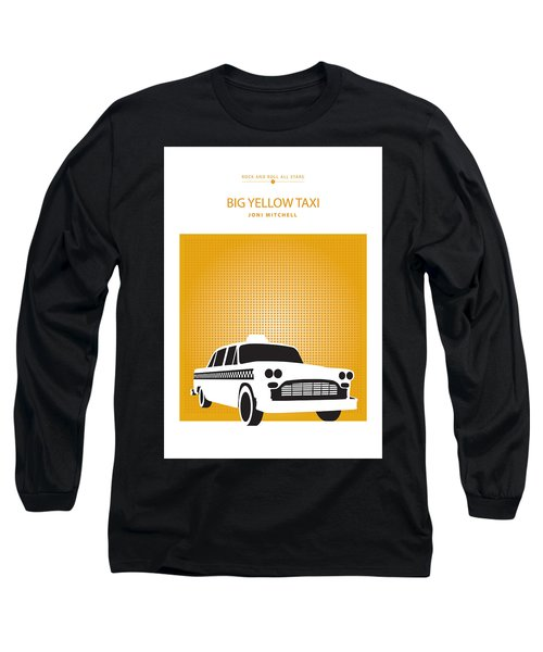 Big Yellow Taxi -- Joni Michel Long Sleeve T-Shirt