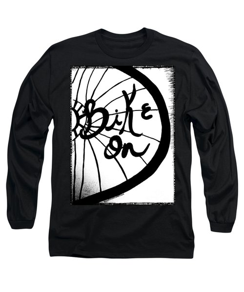 Bike On Long Sleeve T-Shirt