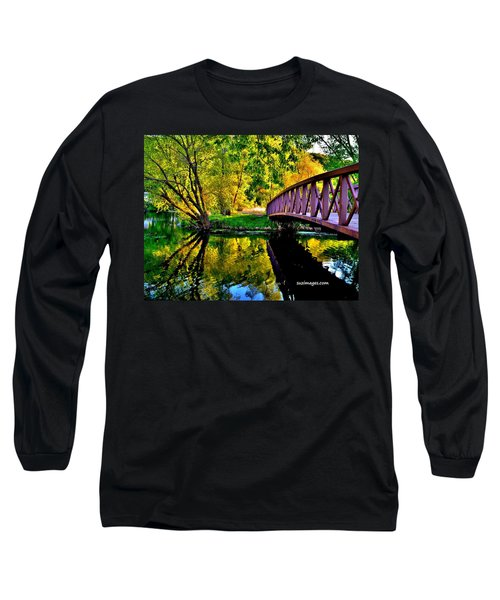 Bike Path Bridge Long Sleeve T-Shirt