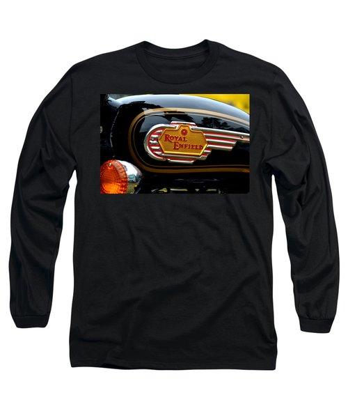 Bike Tank Long Sleeve T-Shirt by Dean Ferreira