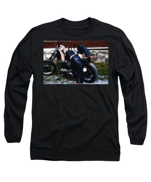 Bikes And Babes Long Sleeve T-Shirt