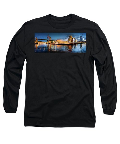 Bilbao Guggenheim Long Sleeve T-Shirt