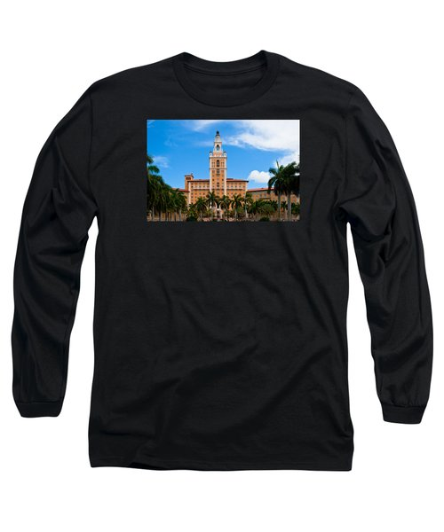 Biltmore Hotel Long Sleeve T-Shirt by Ed Gleichman