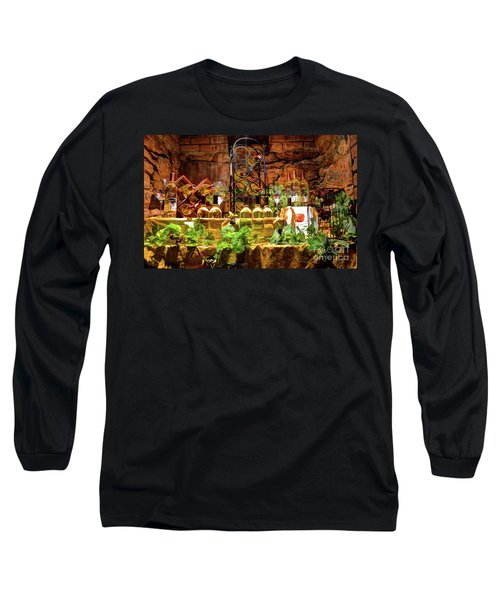 Biltmore Wine Long Sleeve T-Shirt by Savannah Gibbs