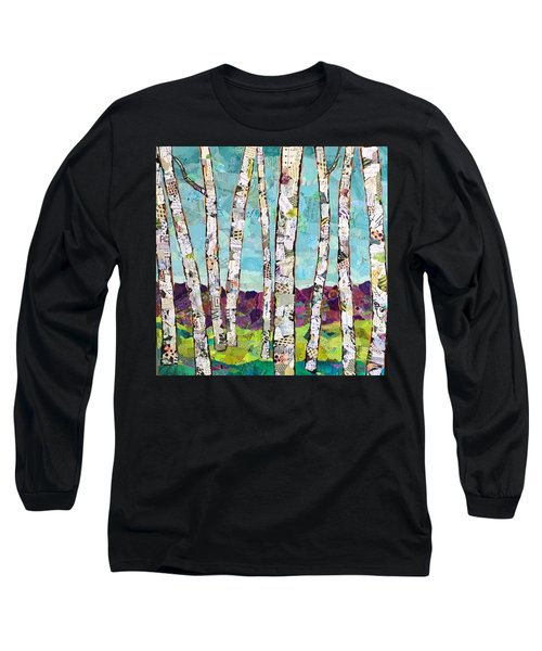 Birch Trees Long Sleeve T-Shirt