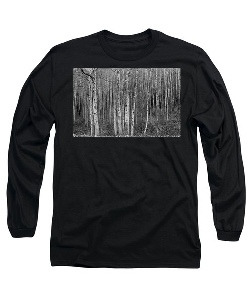 Birch Tress Long Sleeve T-Shirt