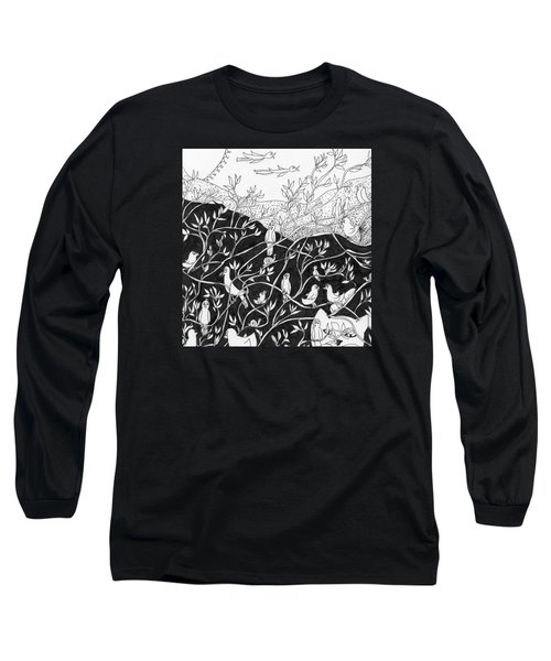 Bird Convention Long Sleeve T-Shirt