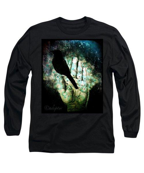 Bird In Hand Long Sleeve T-Shirt