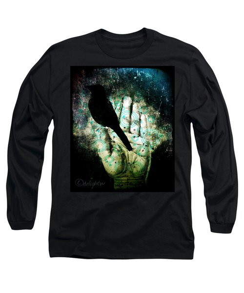 Bird In Hand Long Sleeve T-Shirt