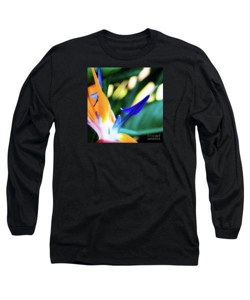 Bird Of Paradise Flower Long Sleeve T-Shirt