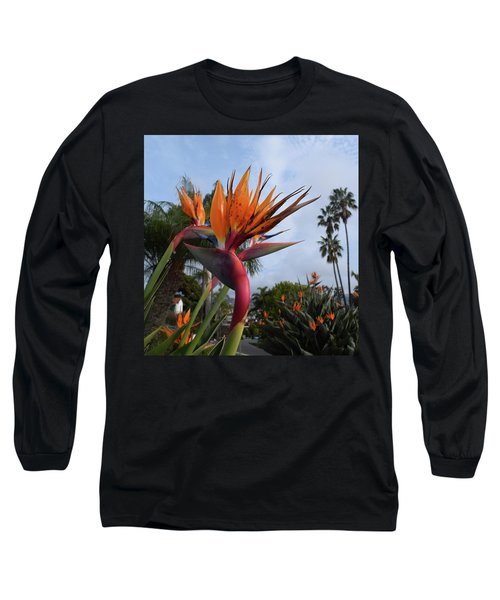Bird Of Paradise Peace And Joy Long Sleeve T-Shirt