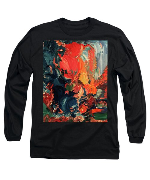Birds And Creatures Of Paradise Long Sleeve T-Shirt