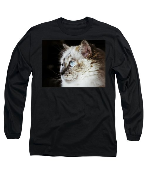Long Sleeve T-Shirt featuring the photograph Birdwatching by Karen Stahlros