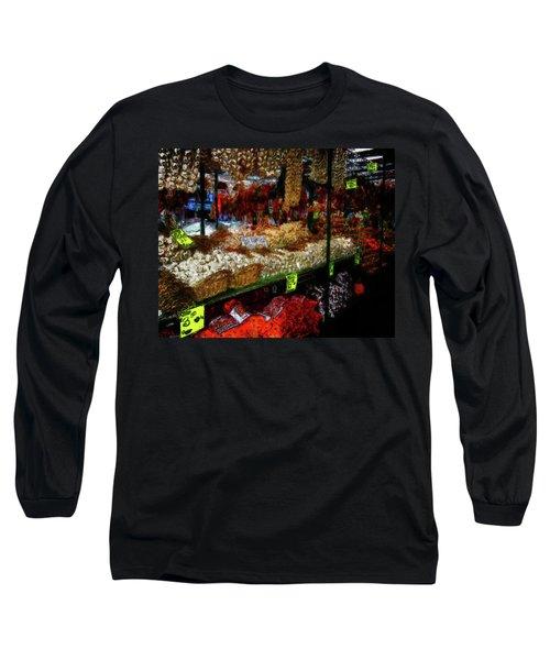 Biward Market Garlic Long Sleeve T-Shirt