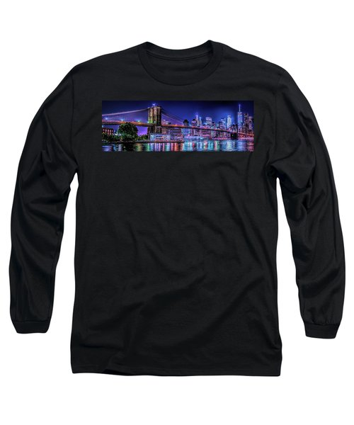 Long Sleeve T-Shirt featuring the photograph Bk Glow by Theodore Jones