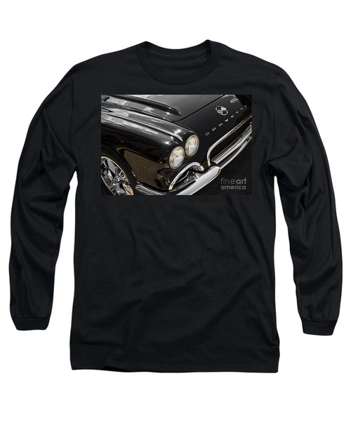 Black '62 Long Sleeve T-Shirt by Dennis Hedberg