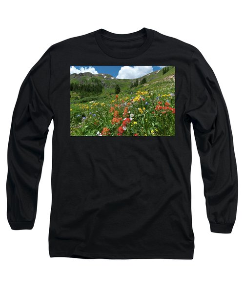 Black Bear Pass Landscape Long Sleeve T-Shirt