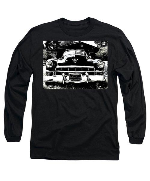 Black Cadillac Long Sleeve T-Shirt