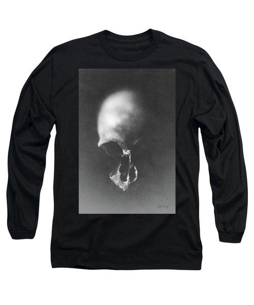 Black Erosion Long Sleeve T-Shirt by Joseph Westrupp