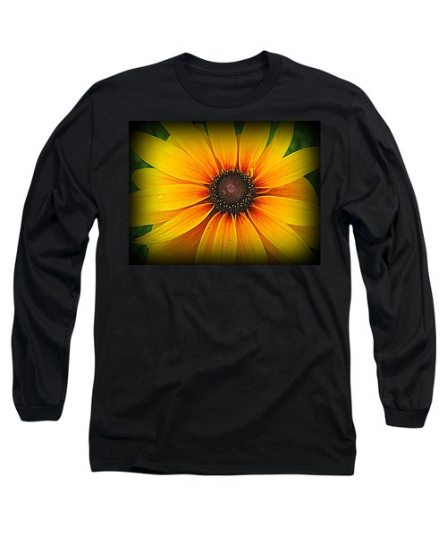 'black Eyed Susan' Long Sleeve T-Shirt