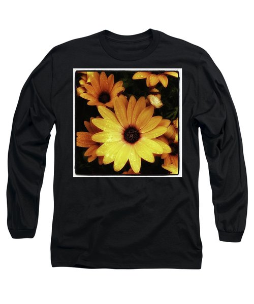 Long Sleeve T-Shirt featuring the photograph Black Eyed Susans. Looks Like They're by Mr Photojimsf