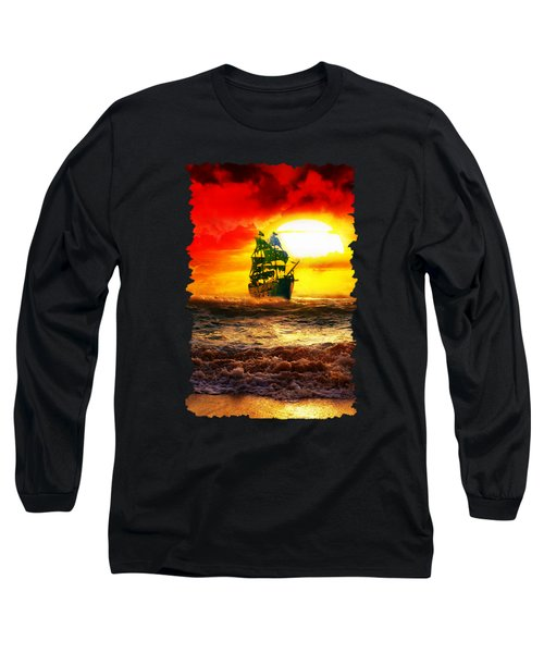 Black Pearl Long Sleeve T-Shirt