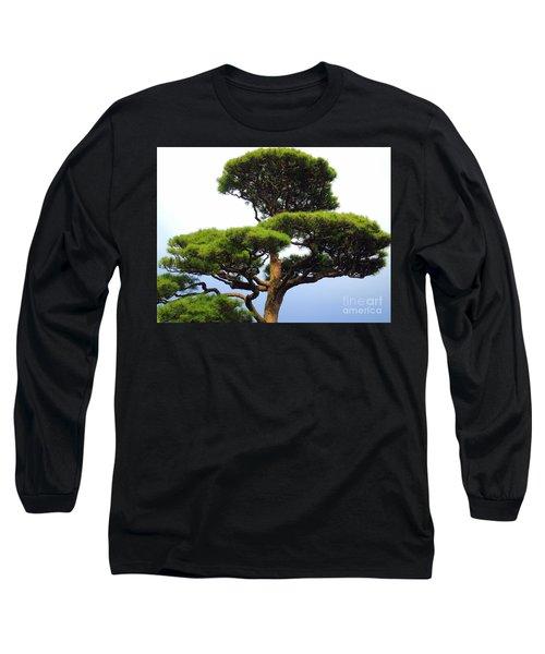 Black Pine Japan Long Sleeve T-Shirt by Susan Lafleur