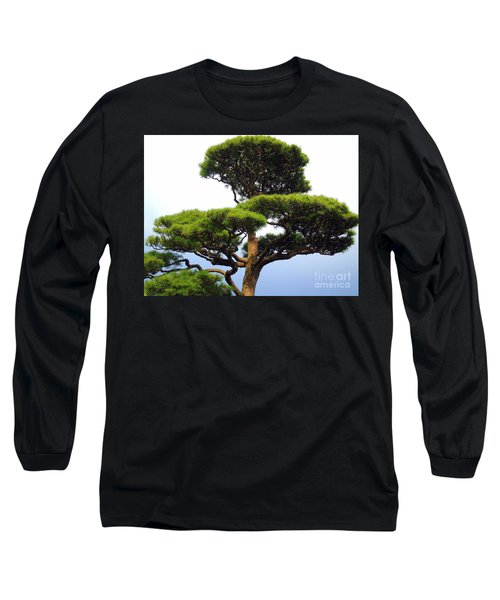 Black Pine Japan Long Sleeve T-Shirt