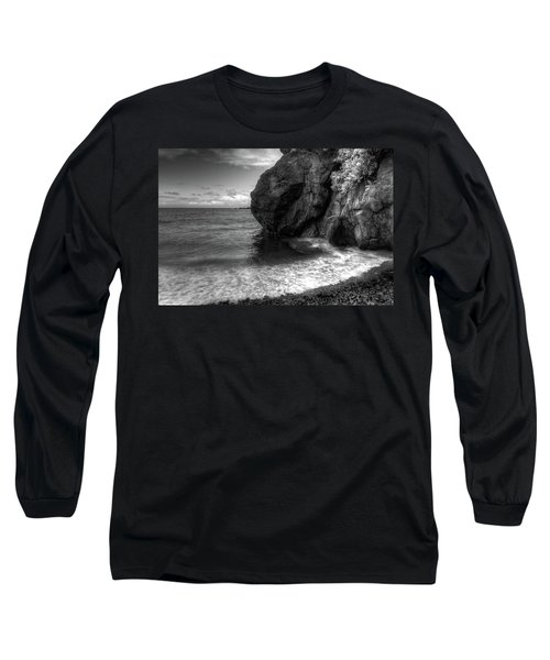 Black Sand Beach Long Sleeve T-Shirt