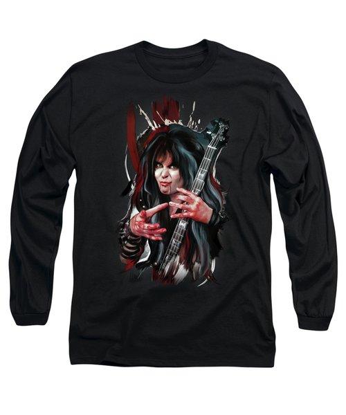 Blackie Lawless 2 Long Sleeve T-Shirt