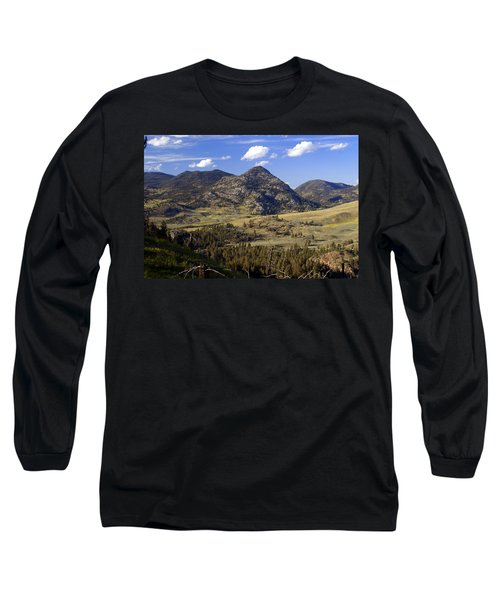 Blacktail Road Landscape 2 Long Sleeve T-Shirt