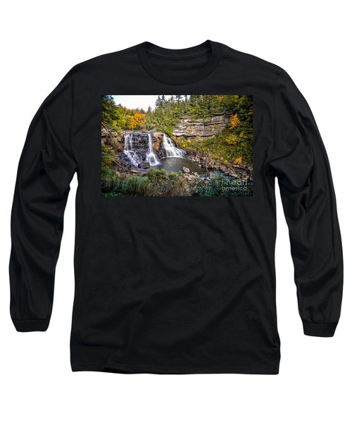 Blackwater Falls In Autumn3836c Long Sleeve T-Shirt