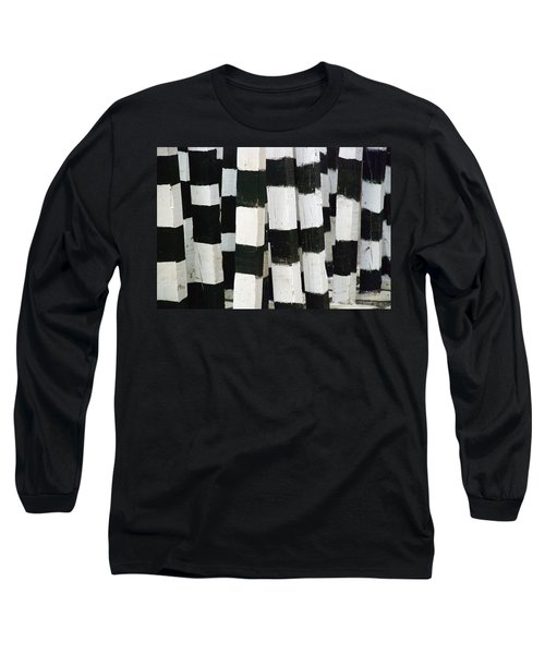 Blanco Y Negro Long Sleeve T-Shirt