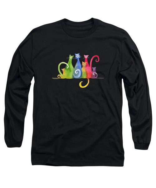 Blended Family Of Six Long Sleeve T-Shirt