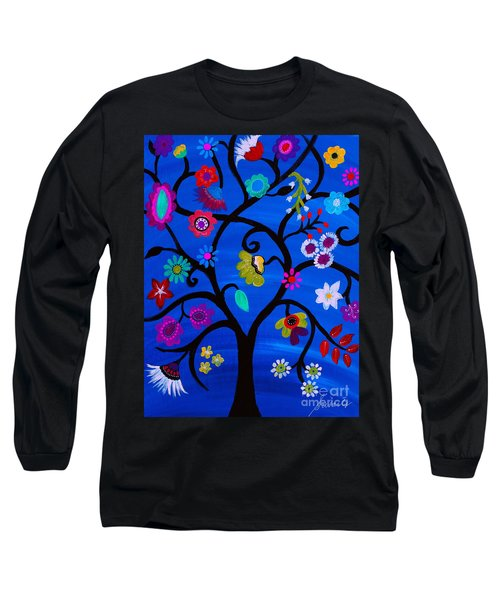 Blessed Tree Of Life Long Sleeve T-Shirt