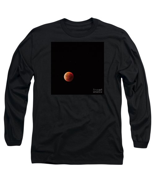 Blood Moon Long Sleeve T-Shirt by Angelo DeVal