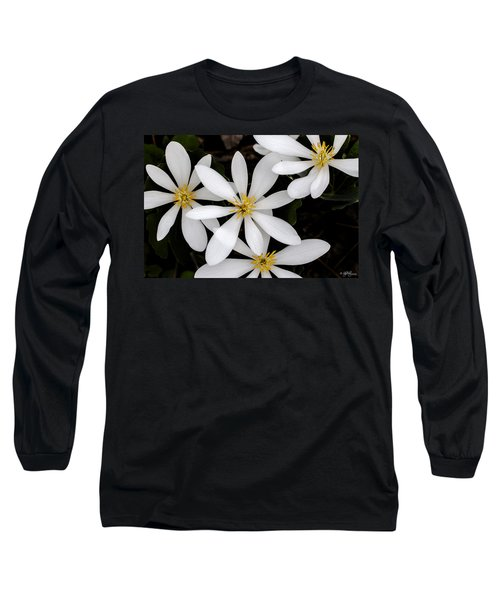 Long Sleeve T-Shirt featuring the photograph Sanguinaria by Skip Tribby