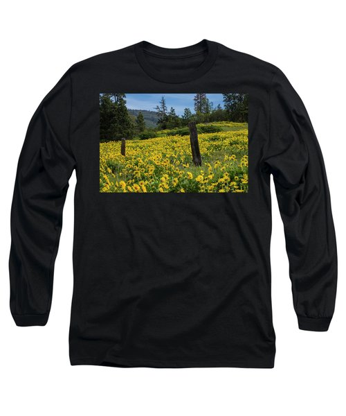 Blooming Fence Long Sleeve T-Shirt