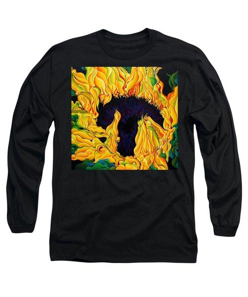 Blossomonious Yellow Trip Long Sleeve T-Shirt