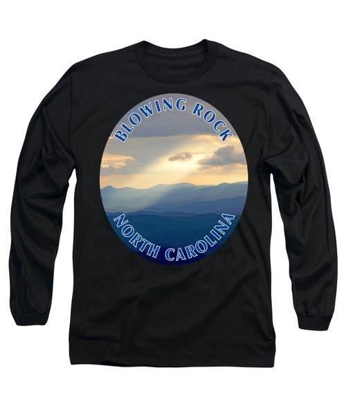 Blowing Rock Mountains T-shirt Long Sleeve T-Shirt