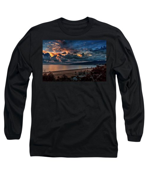 Blue And Gold Long Sleeve T-Shirt