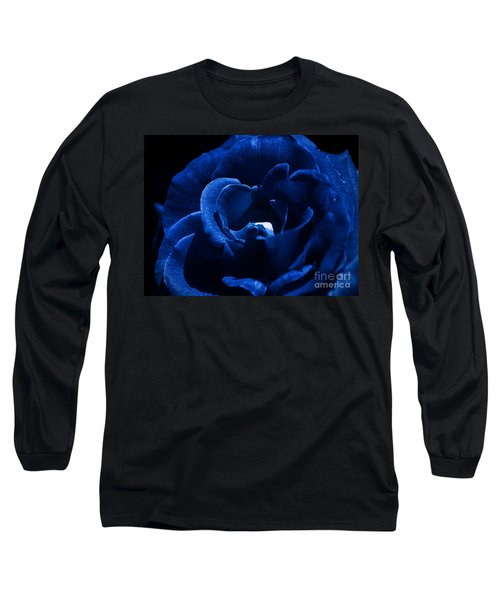 Blue Blue Rose Long Sleeve T-Shirt