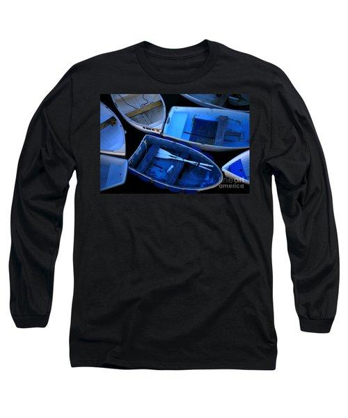 Blue Boats Long Sleeve T-Shirt