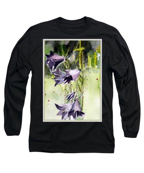 Blue Bonnets Long Sleeve T-Shirt by Mindy Newman