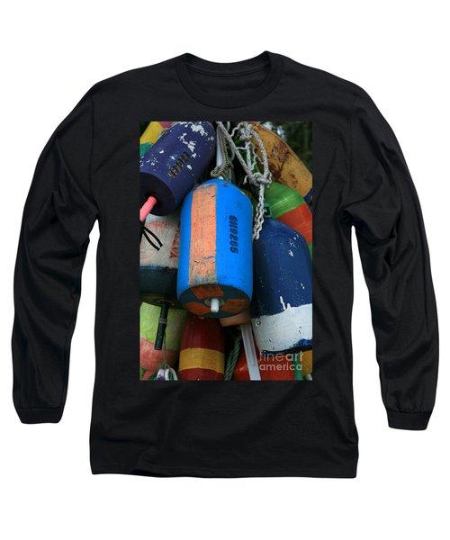 Blue Buoys Long Sleeve T-Shirt