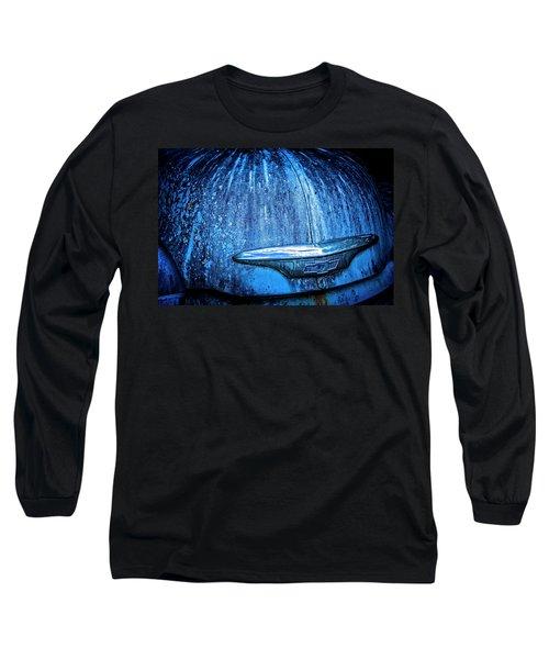 Blue Chevy Long Sleeve T-Shirt