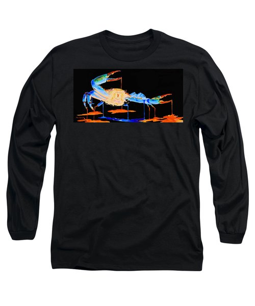 Blue Crab Two Long Sleeve T-Shirt